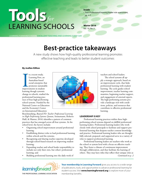 Best-practice takeaways: A new study shows how high-quality