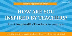 Teacher appreciation week 2018 giveaways