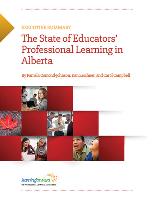 New Report State Of Learning >> New Report In Canada Study Series Focuses On Alberta Learning Forward