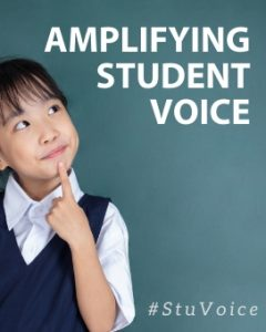 Amplifying student voice in professional learning