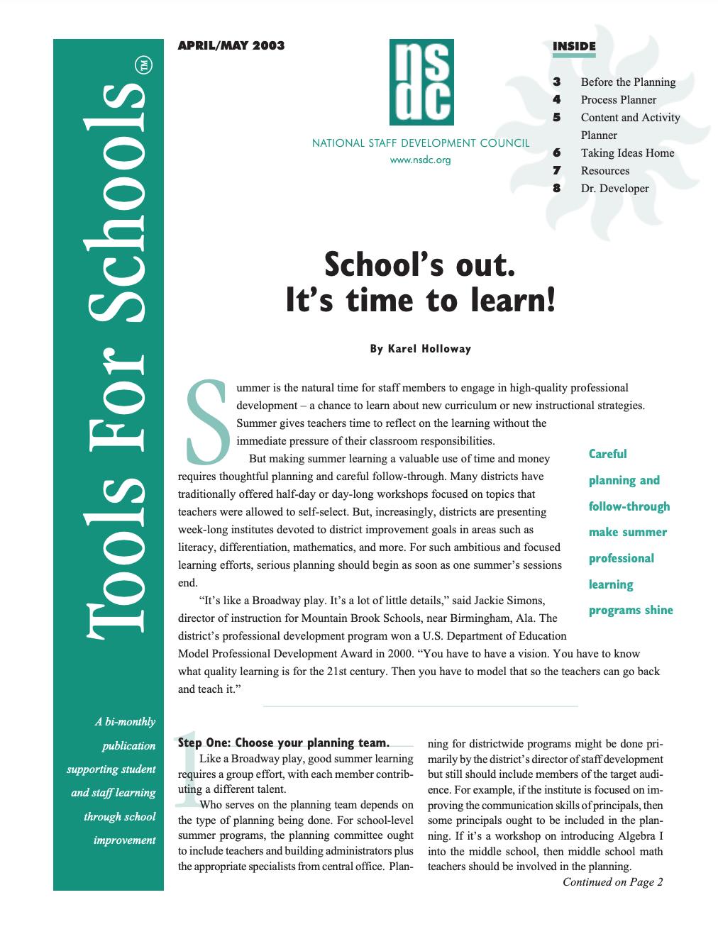 tools-for-schools-april-may-2003-vol-6-no-5