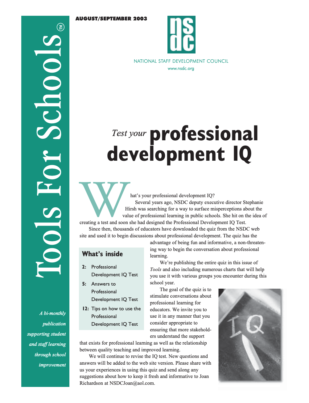 tools-for-schools-august-september-2003-vol-7-no-1