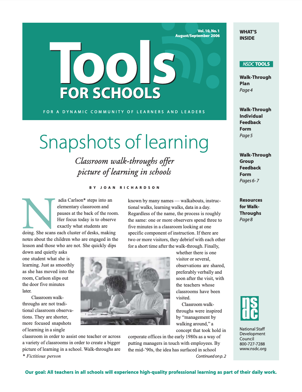 tools-for-schools-august-september-2006-vol-10-no-1