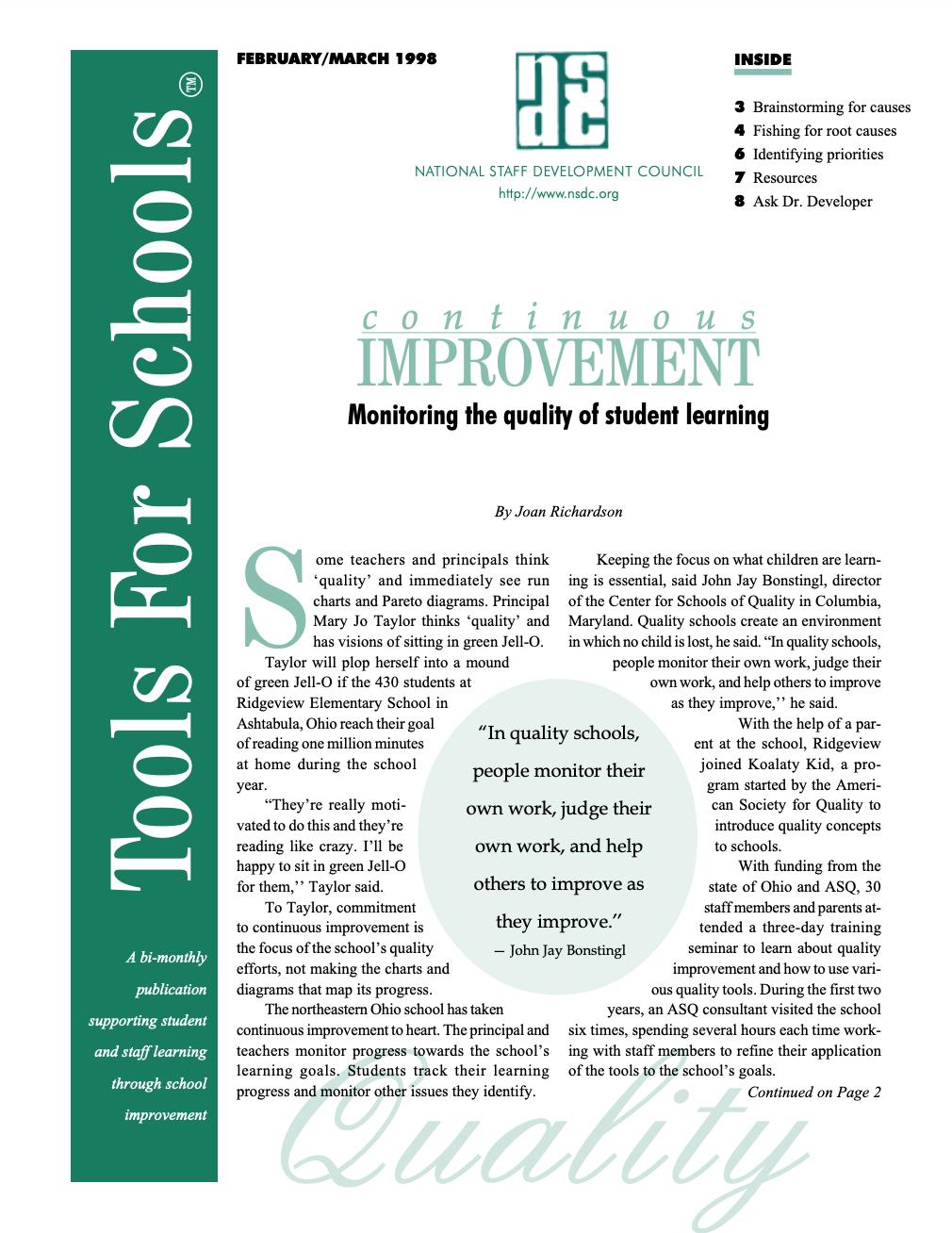 tools-for-schools-february-march-1998-vol-1-no-4