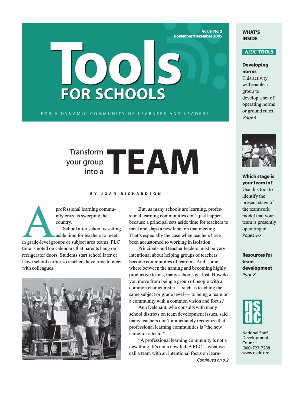 tools-for-schools-november-december-2005-vol-9-no-2