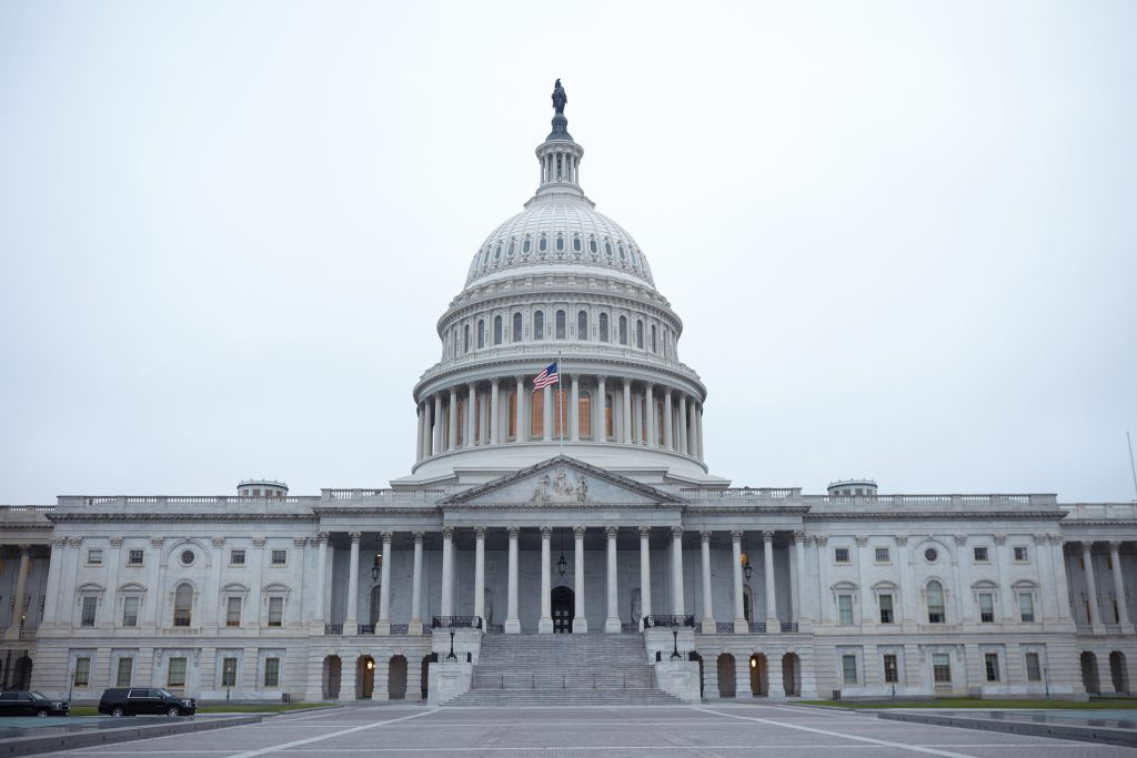 Washington DC, USA, September 14th 2018: State Capitol of United States of America