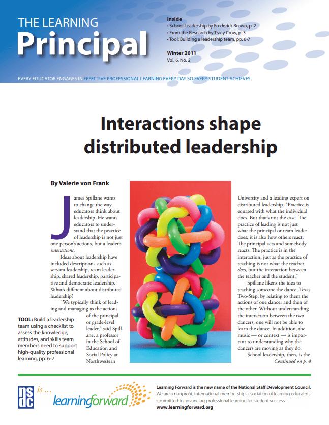 The Learning Principal, December-January 2010, Vol. 5, No. 4