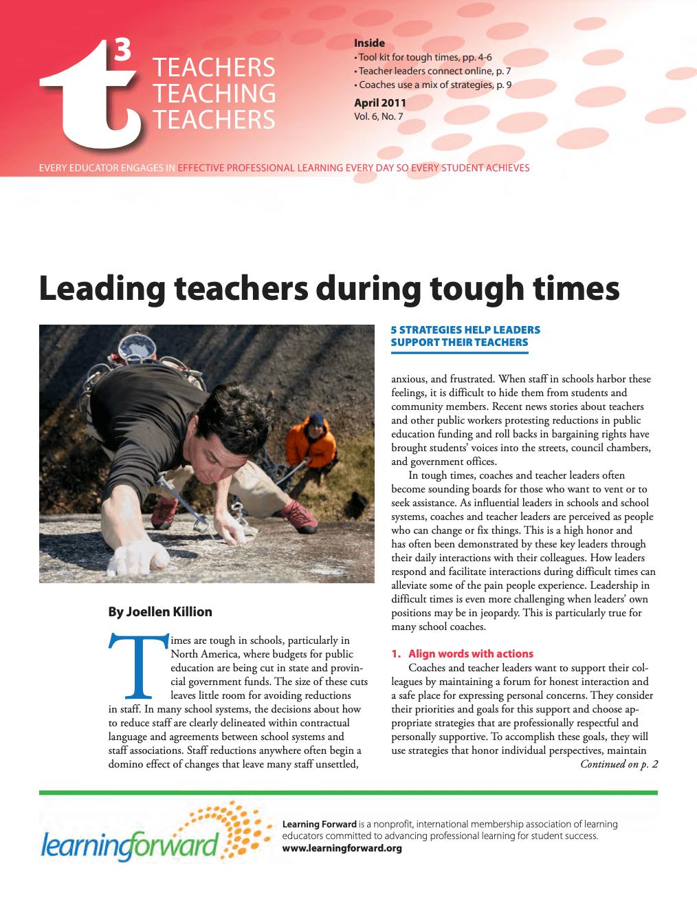 teacher-teaching-teachers-april-2011-vol-6-no-7