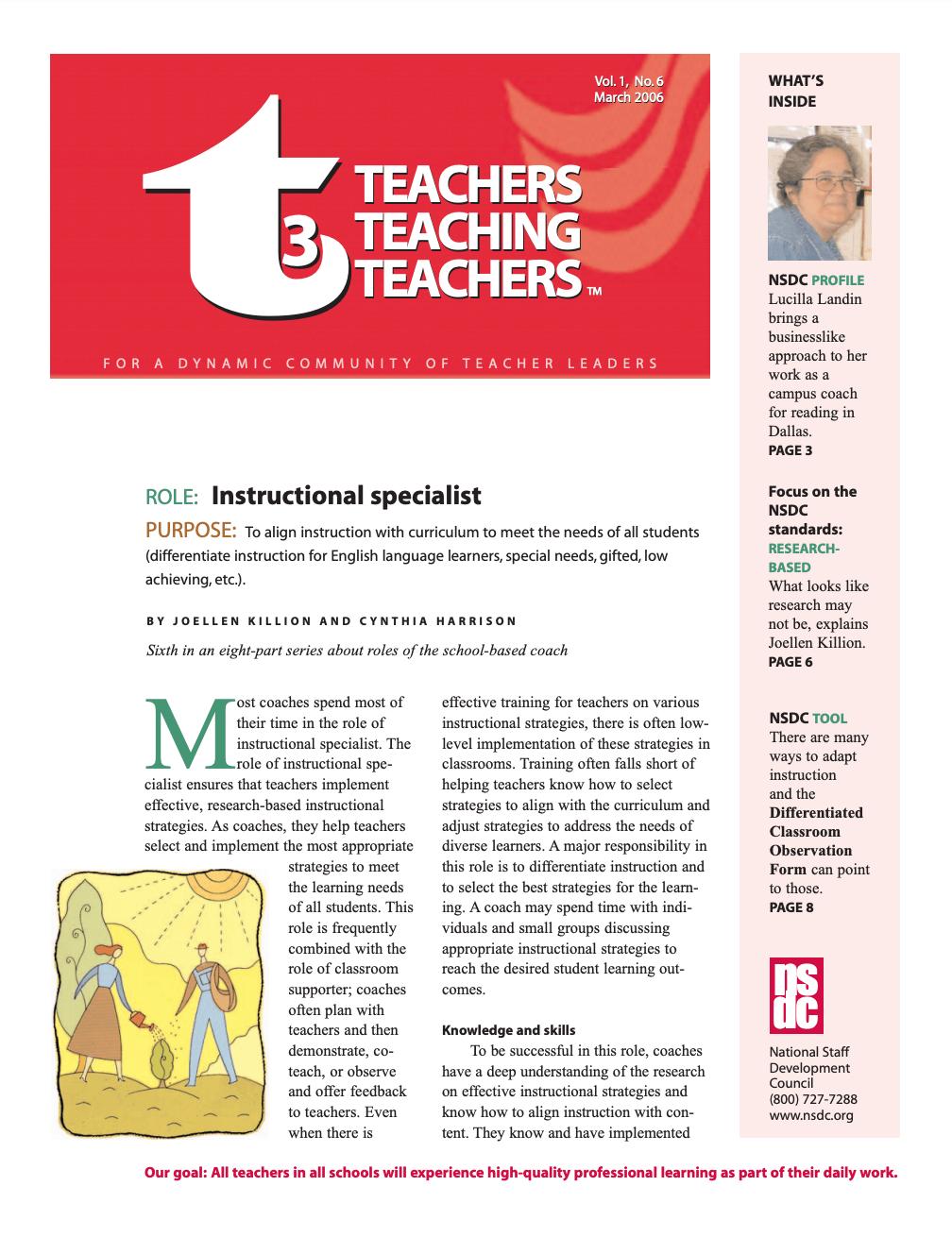teachers-teaching-teachers-march-2006-vol-1-no-6