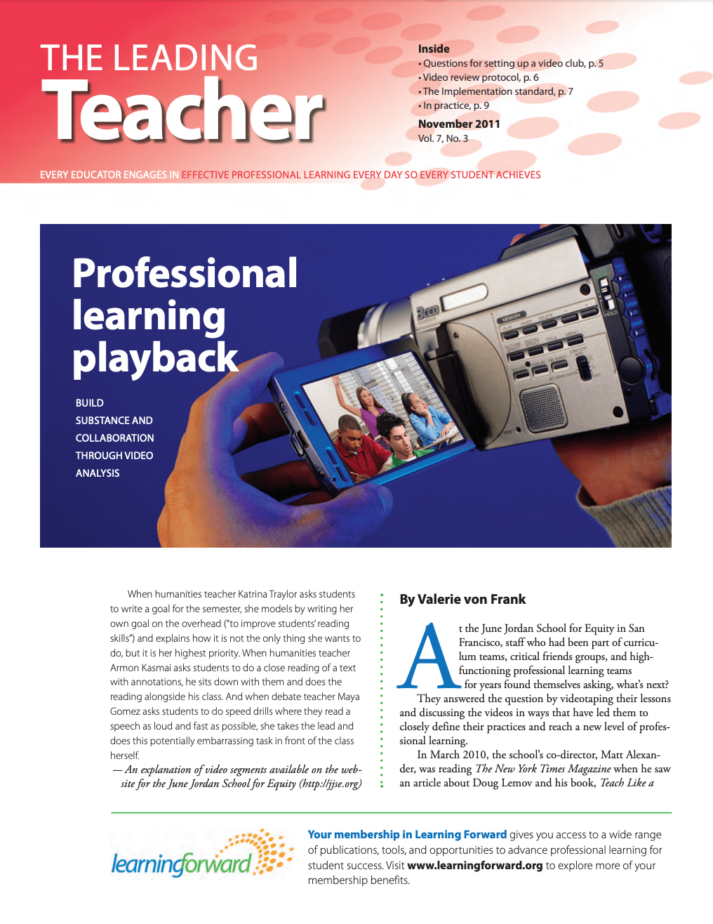 the-leading-teacher-november-2011-vol-7-no-3