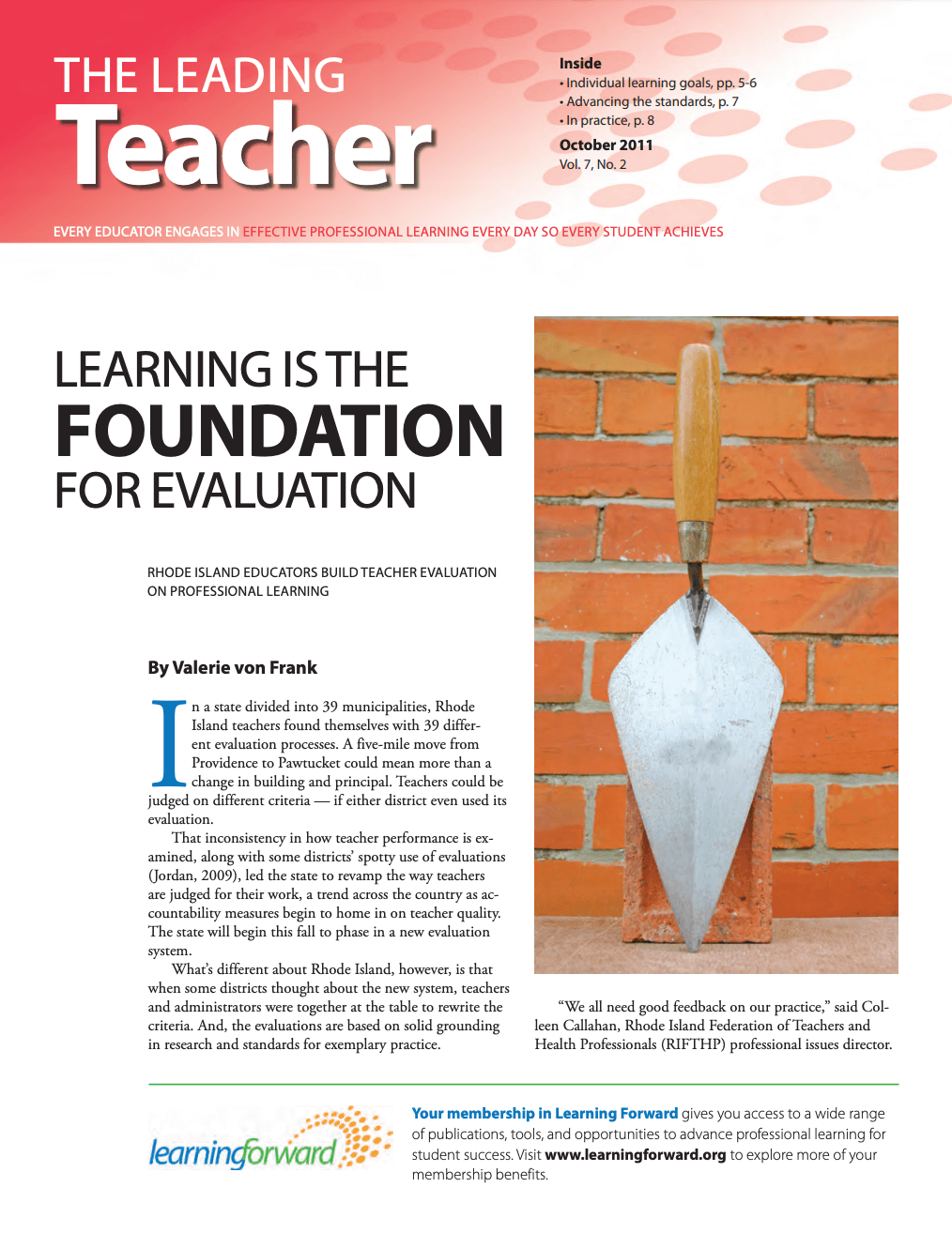 the-leading-teacher-october-2011-vol-7-no-2