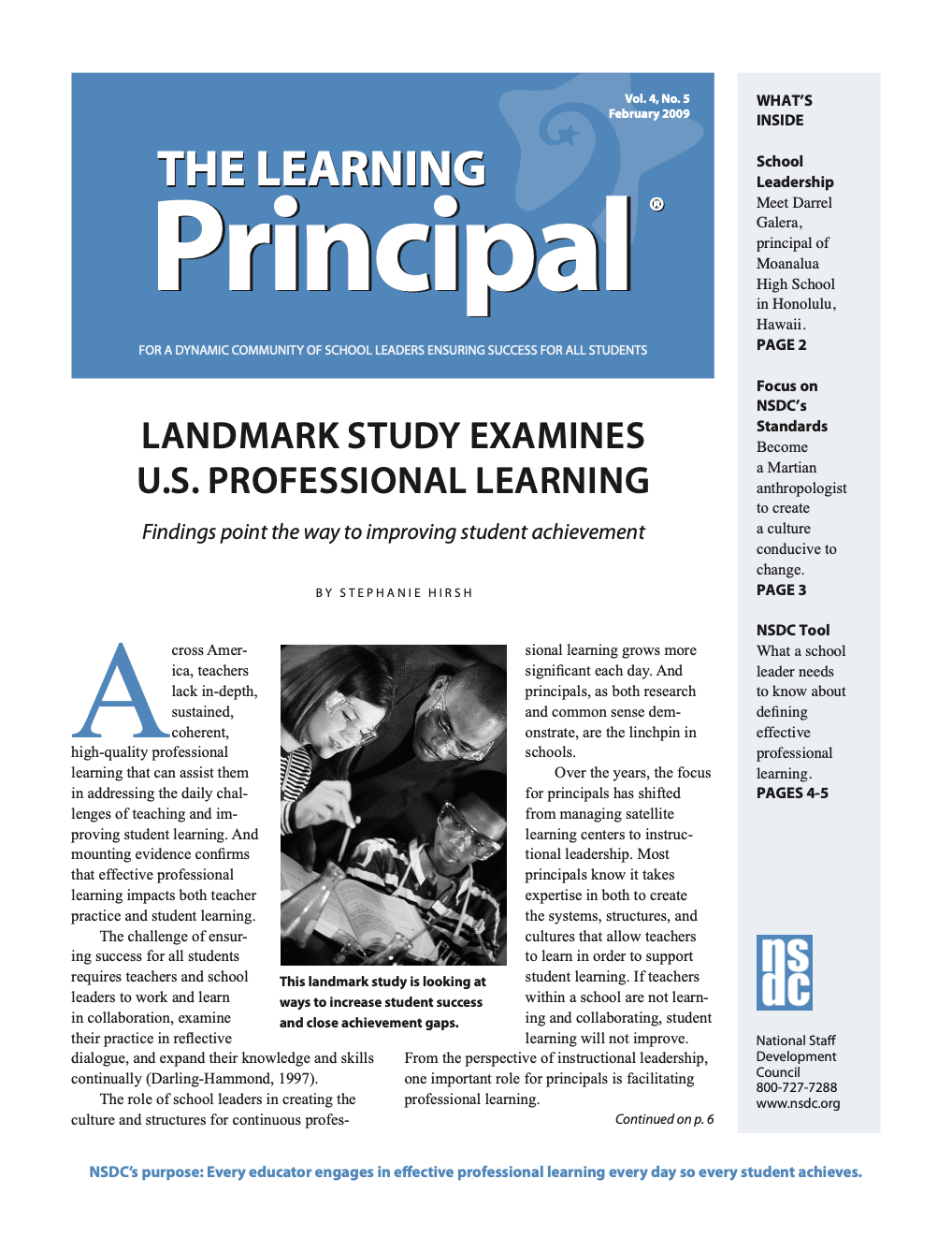 the-learning-principal-feb-2009-vol-4-no5